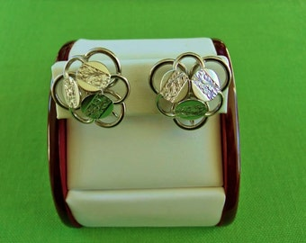 Vintage Sarah Coventry Clip On Earrings (Item 819)