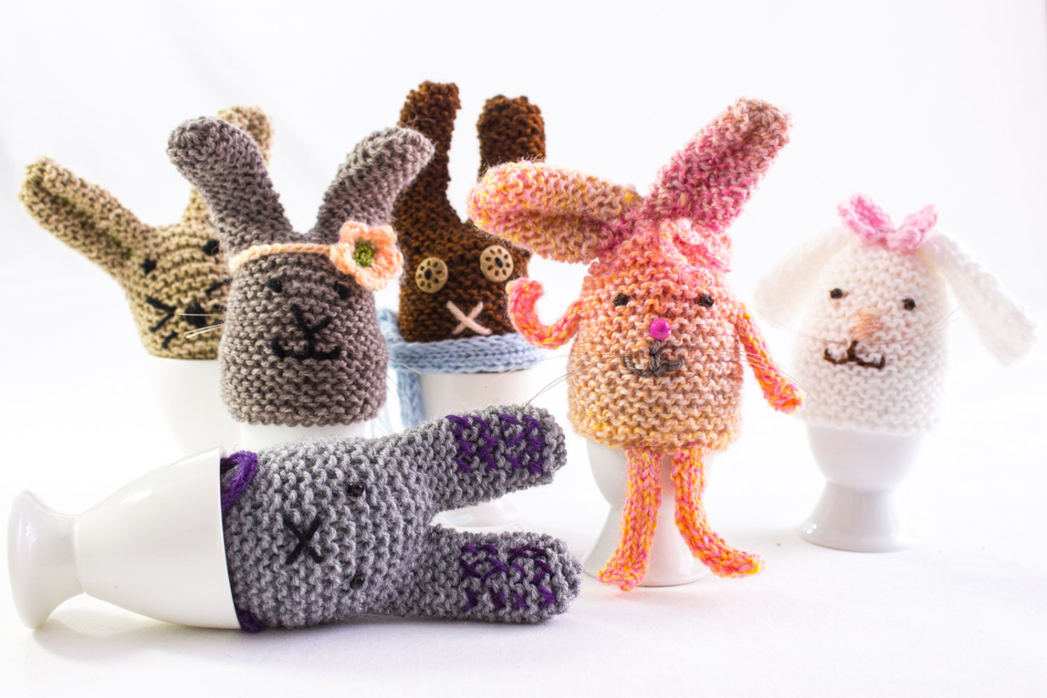 Easter Egg Cosy Knitting Pattern : KNITTING PATTERN Egg Cosy Knitted Easter Egg Cosies Egg