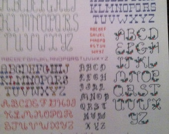 Backstich Alphabets, Mini Series #2