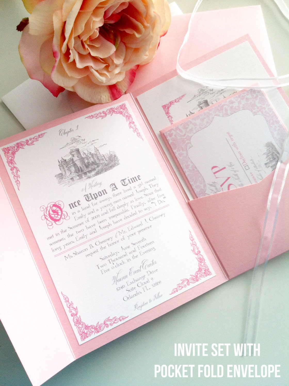 Digital wedding invitation fairytale white and for Digital wedding invitations