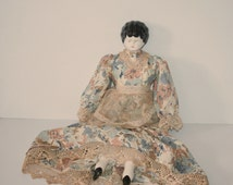 Stunning Large Antique China Doll /MEMsArtShop.