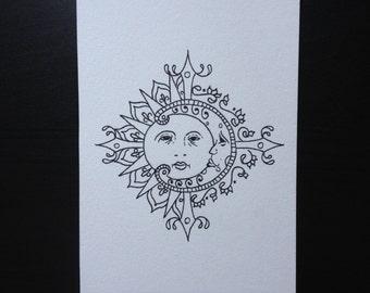 Sun and Moon - Original Artwork