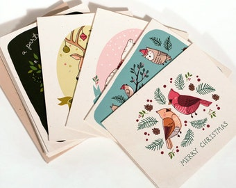 10 Assorted Christmas Cards