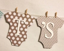 It's A Boy Baby Banner, Mini Clothespin, Baby Shower Decorations, Party Decorations, Bow Tie Theme