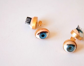 eyes earings
