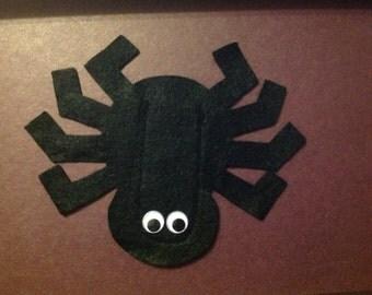 Halloween Spider Finger Puppet