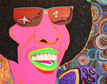 "Kurovskiy ""Sly Stone. Stand!"" 2012 art magnet"
