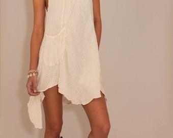 Mokosh Summer Dress in Wheat