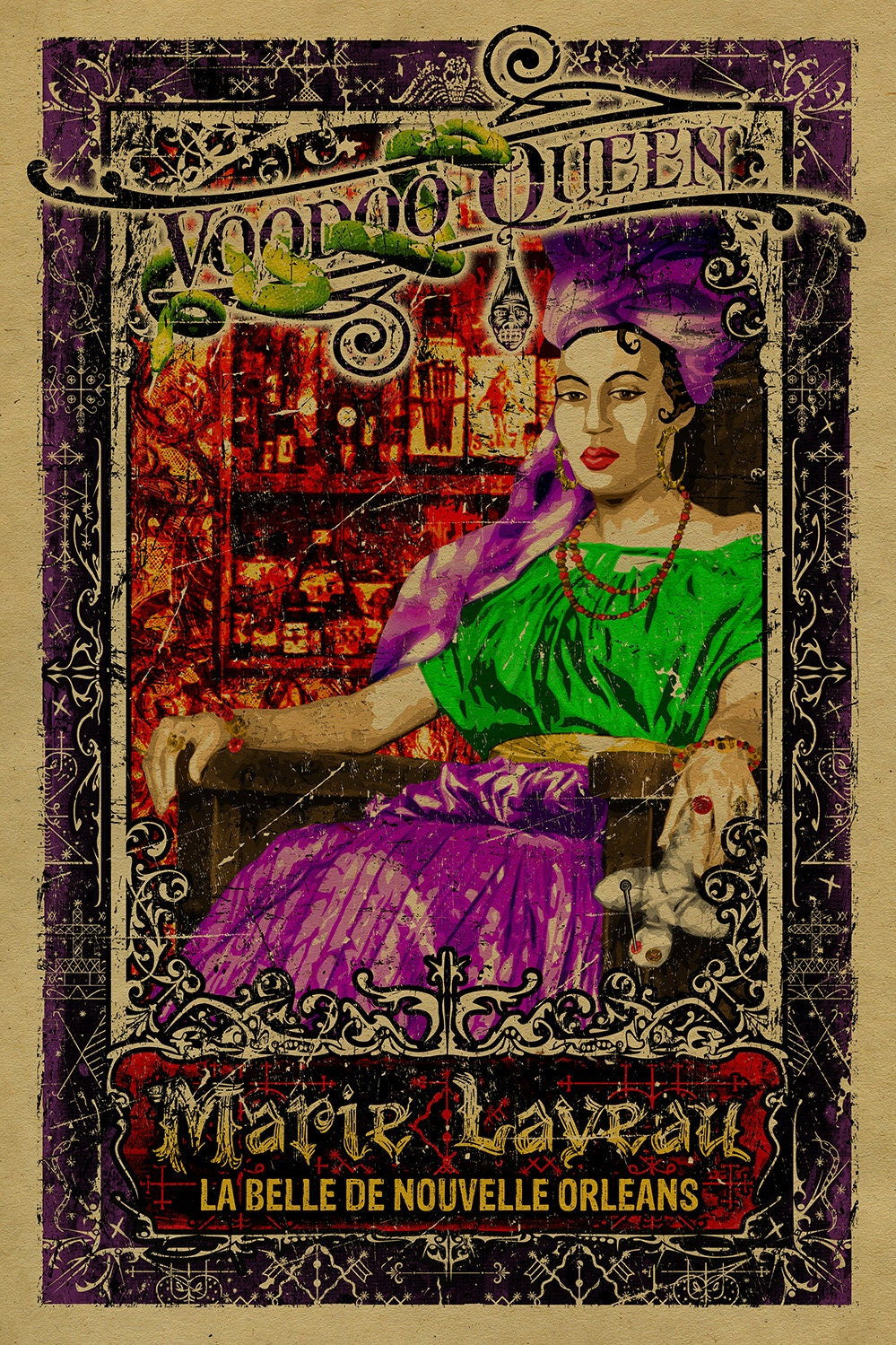 Bibliographie en Carolyn Morrow Long A New Orleans Voudou Priestess The Legend and Reality of Marie Laveau Gainesville University Press of Florida 2006 294 p