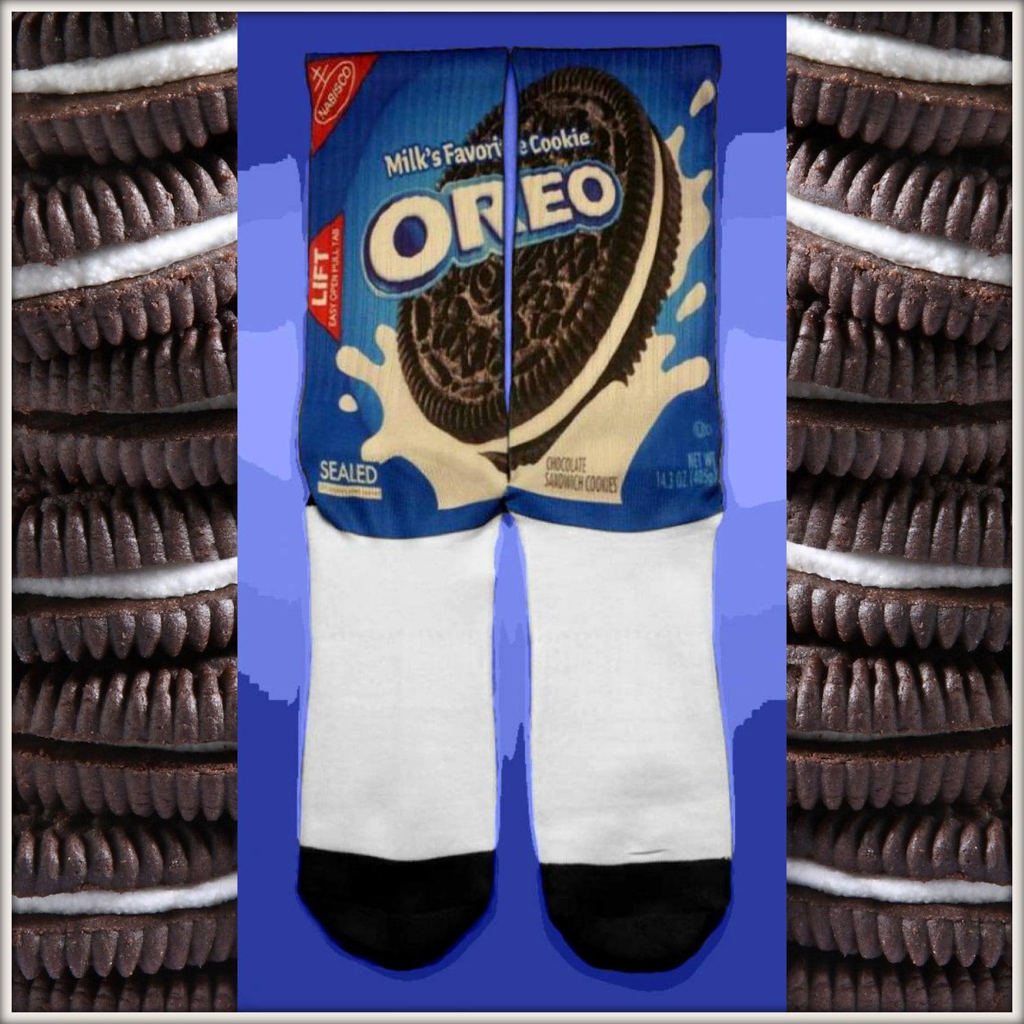 Oreo cookie custom nike elite crew socks limited by for Custom elite