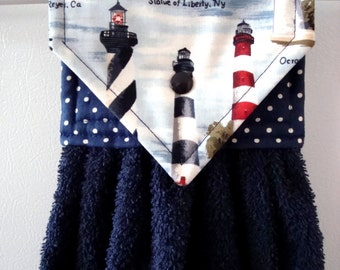 Superb Hanging Hand Towel, Lighthouse Hanging Kitchen Towel, Lighthouse Hand  Towel, Lighthouse Kitchen Decor
