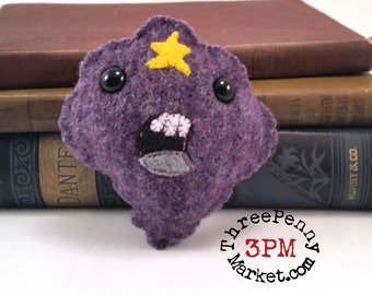 Lumpy Space Princess Adventure Time plushie