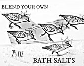 Detox Bath Salts - 25oz - Blend Your Own Bath Salt - All Natural Bath Salts - Homemade Bath Salt - Organic Bath Salts