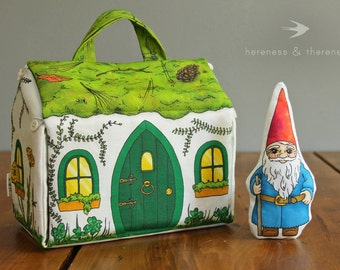 Wee Fabric House: Gnome Home