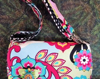 Bright Floral Shoulder Bag