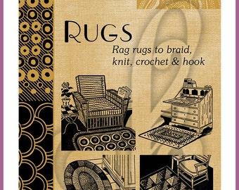 Rugs: Rag rugs to braid, knit, crochet & hook eBook