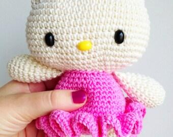 Hello Kitty Amigurumi Anleitung Deutsch : Popular items for kitty amigurumi on Etsy
