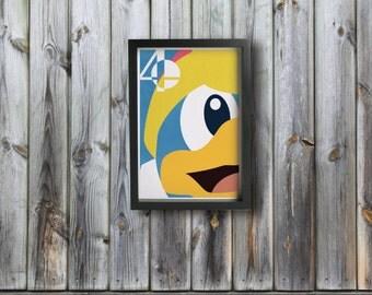 KING DEDEDE poster - Inspired by Super Smash Bros.