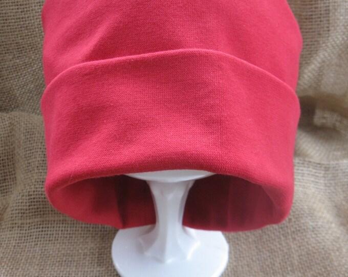 Chemo Hat Red Softie Chemo Cap Cancer Headwear