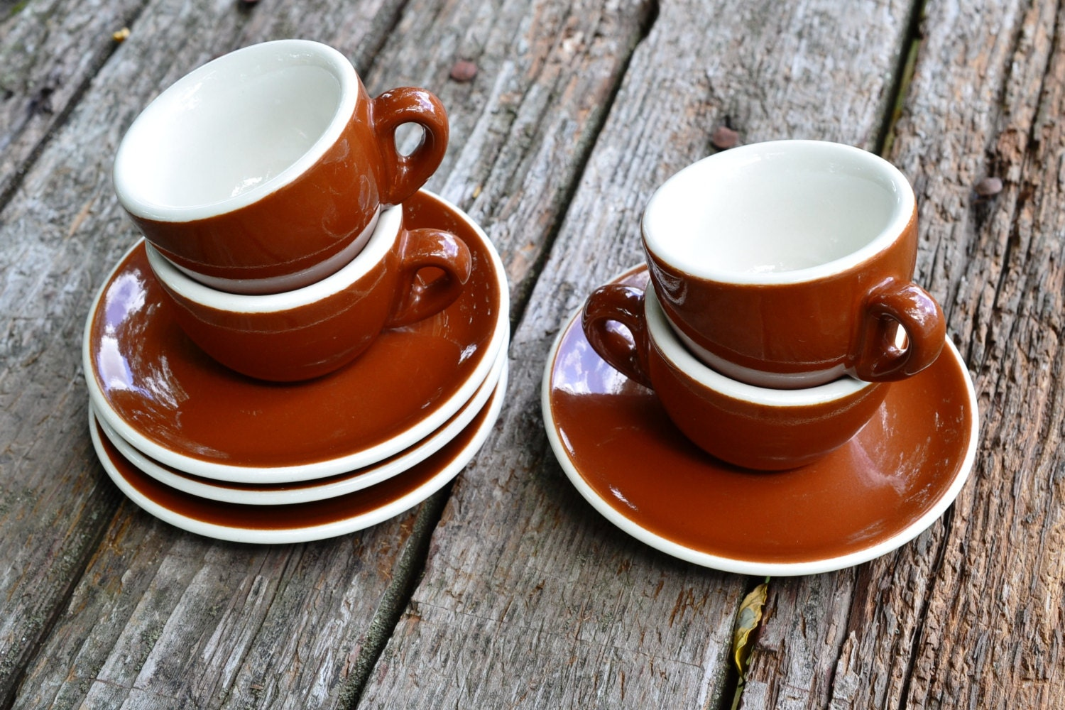 Acf Italy Demitasse Cups Amp Saucers Set Of 4 Porcelain Espresso