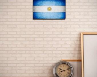 Original Argentina Flag (Canvas)