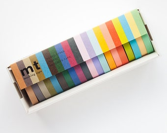 Washi Tape Set - MT Masking Tape 20PC Washi Tape Set | Washi Tape Gift Set