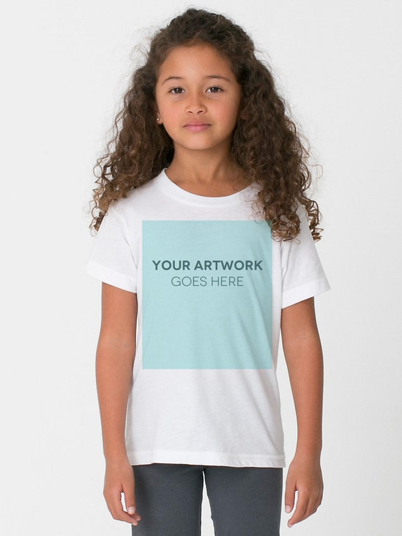 Items similar to custom kids youth t shirt printing no for Order custom t shirts no minimum