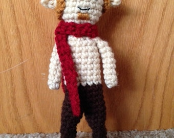 Crochet Mr. Tumnus
