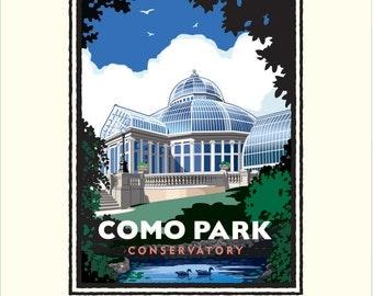 Landmark Series   Como Park Conservatory   St. Paul, MN by Mark Herman