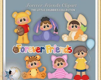 Forever Friends Baby Clipart