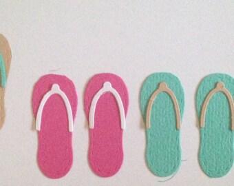 Quickutz Modern Flip Flops Die Cuts