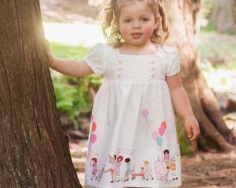 3T Children at Play Junebug Dress