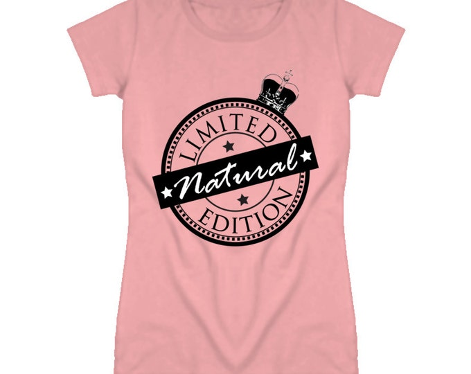 Limited Edition Natural Women's Fitted T-shirt - Pink