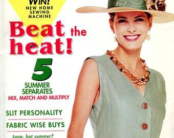Sew News magazine, June 1993