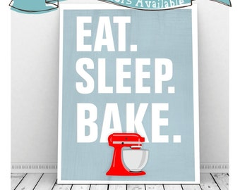 Printable Kitchen Art, Kitchen Aid Mixer, Kitchen Art Print, Retro Kitchen Art, Wall Decor Kitchen Art, Kitchen Artwork, Cute Kitchen Decor