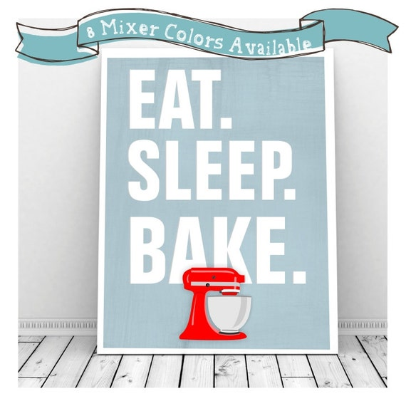 Kitchen Art Mixer: Printable Kitchen Art Kitchen Aid Mixer Kitchen Art Print