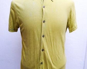 Vtg Kenzo men shirt M size