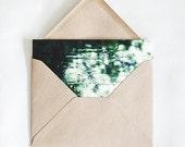 SALE! Rainy Window, eco-friendly photography card