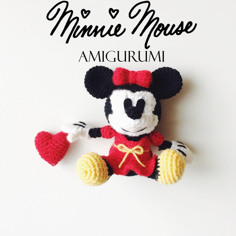 Minnie Mouse Amigurumi Crochet Pattern : Item Details Shop Policies