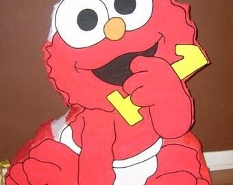 Amazing Baby Elmo Pinata party !!!!