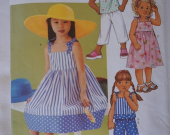 Butterick 3477 Sundress or Top with Shorts