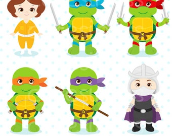 Baby turtle clipart, ninja clipart, Baby Turtle Ninja Clipart, ninja turtle clipart