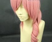 Final Fantasy XIII / FF13 Serah Farron Milkshake long curly Pink COSPLAY Wig featured image
