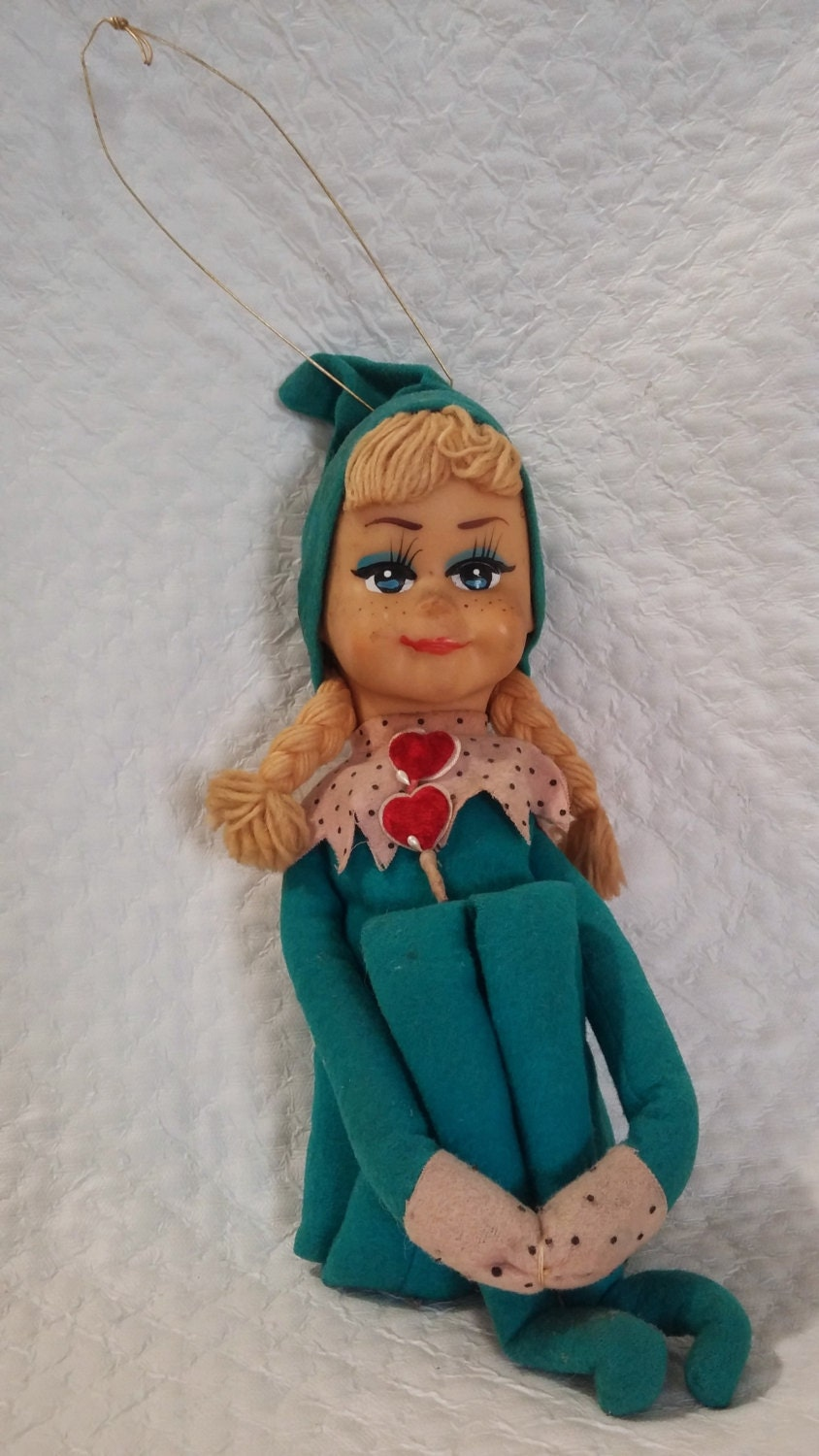Rare 1963 Vintage Kamar Living Doll Great Condition Blue