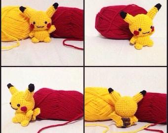 Mini Pikachu Crochet Pattern