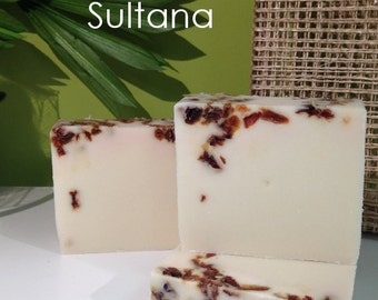 Sultana Handmade Cold Process Artisan Soap - Vegan