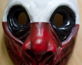 Read info before order inspired  Payday the Heist Wolf game mask Cosplay Halloween team band