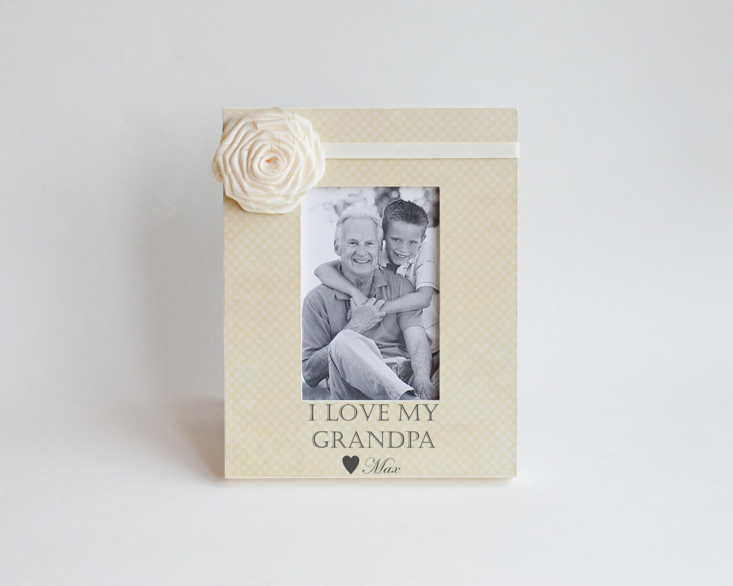 Grandpa Picture Frame Gift Personalized Names Available In