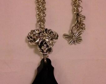 Baroque Crystal in Jet Black =  N 123