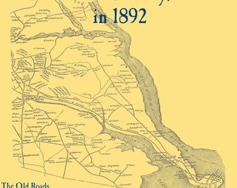 The Old Maps of Strafford County,  New Hampshire in 1892